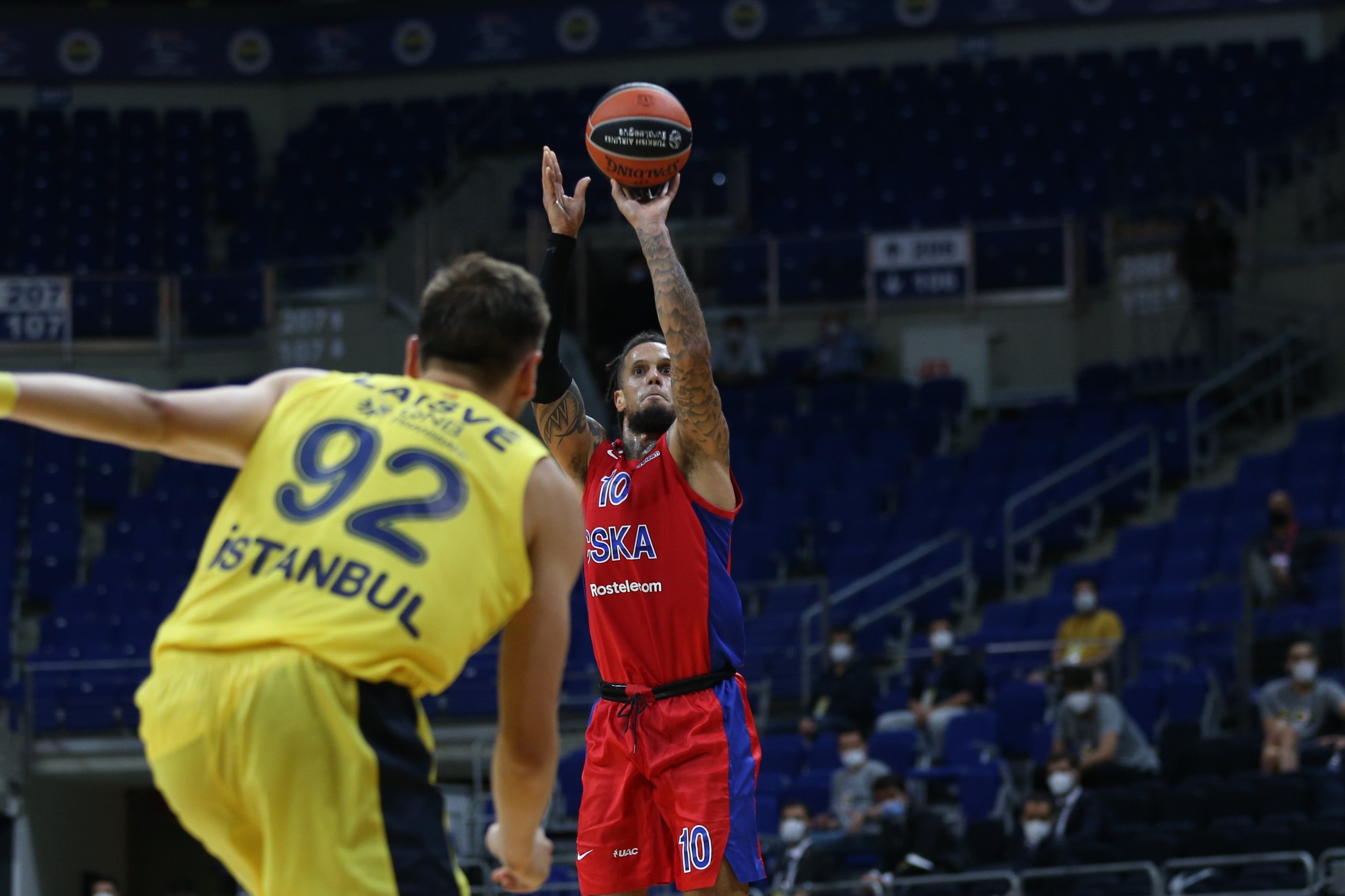 Daniel Hackett CSKA Fener