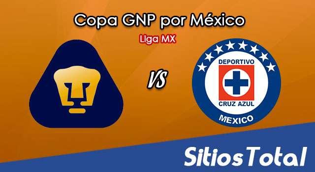 Pumas vs Cruz Azul en Vivo – Copa GNP por México – Liga MX – Sábado 4 de Julio del 2020