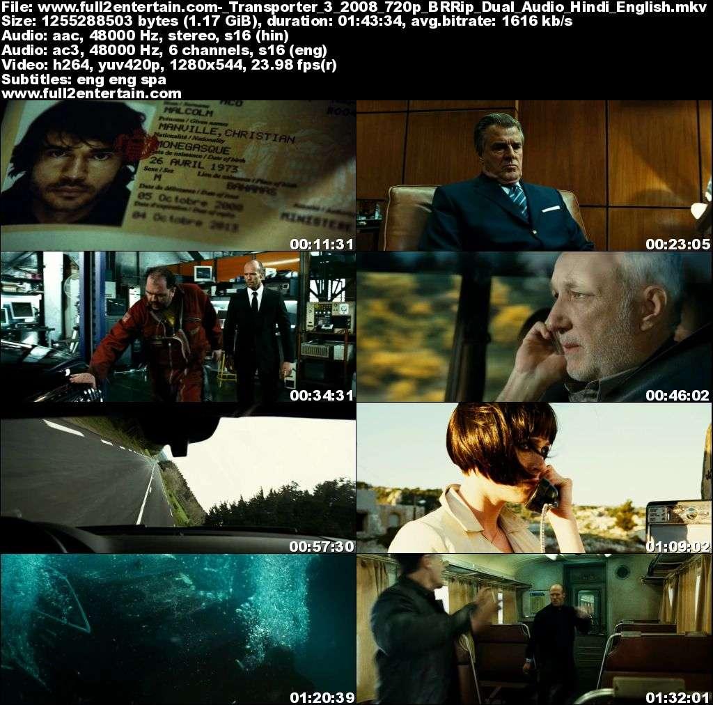 Transporter 3 (2008) Full Movie Free Download HD 300mb