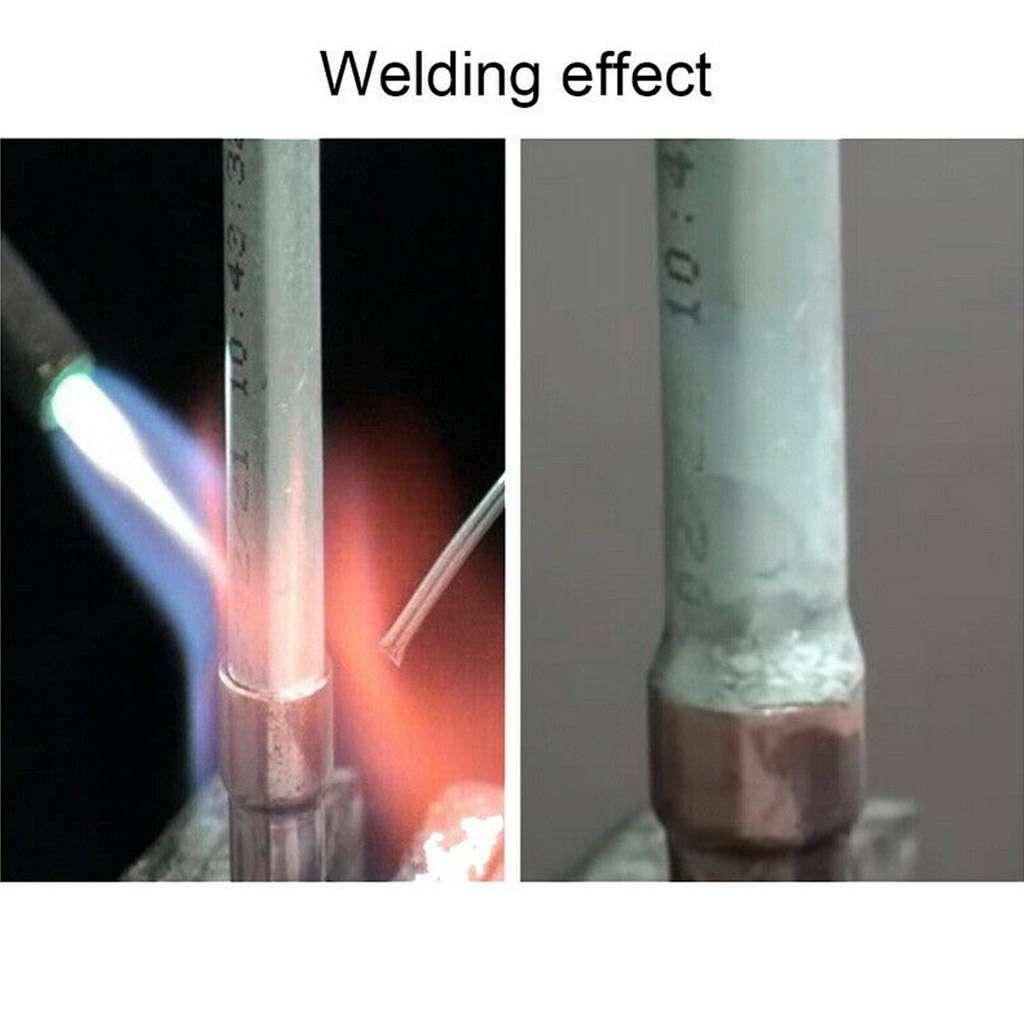 10//20//50PCS Aluminum Solution Welding Flux-Cored Rods Wire Brazing Rod 2MM//1.6MM