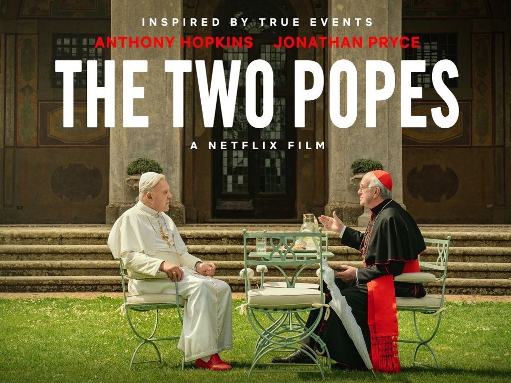 Οι Δύο Πάπες (The Two Popes) Quad Poster