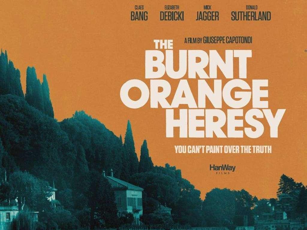 Διαρρήκτης Υψηλής Τέχνης (The Burnt Orange Heresy) Poster Πόστερ Wallpaper