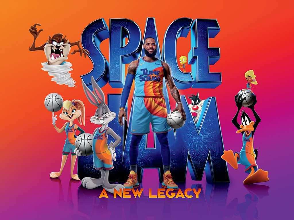 Διαστημικά Καλάθια: Η Νέα Γενιά (Space Jam: A New Legacy) Quad Poster