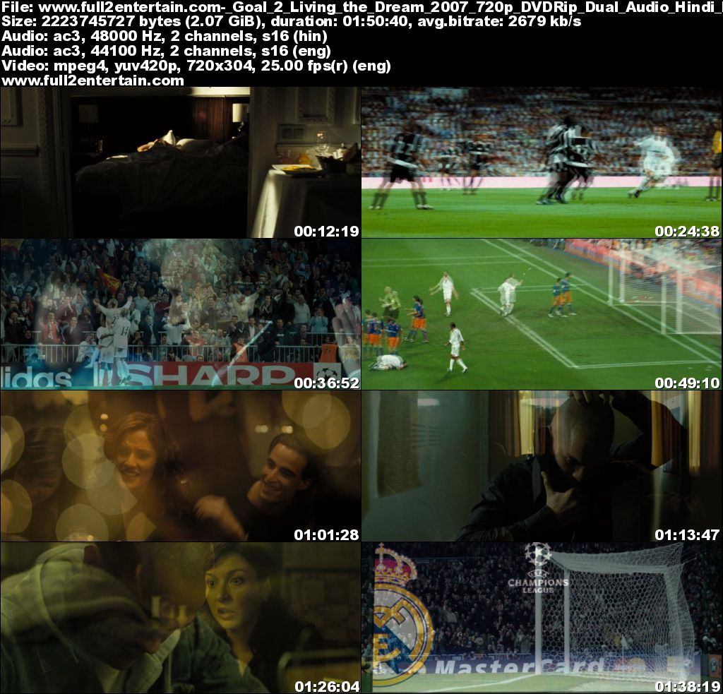 Goal II: Living the Dream (2007) Full Movie Free Download HD