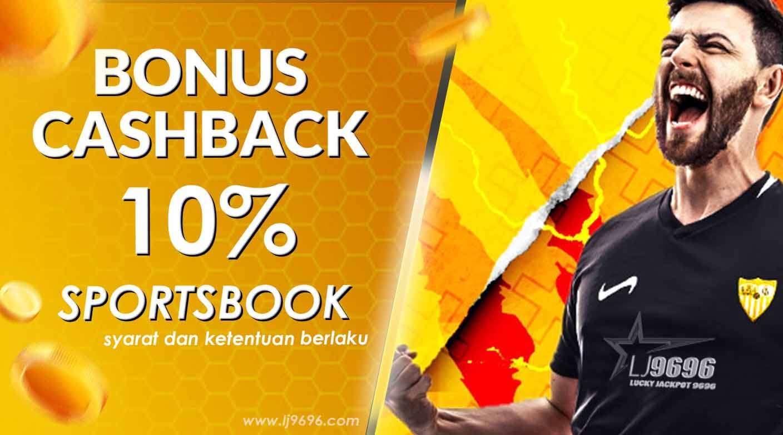 Cashback Sportsbook 10%