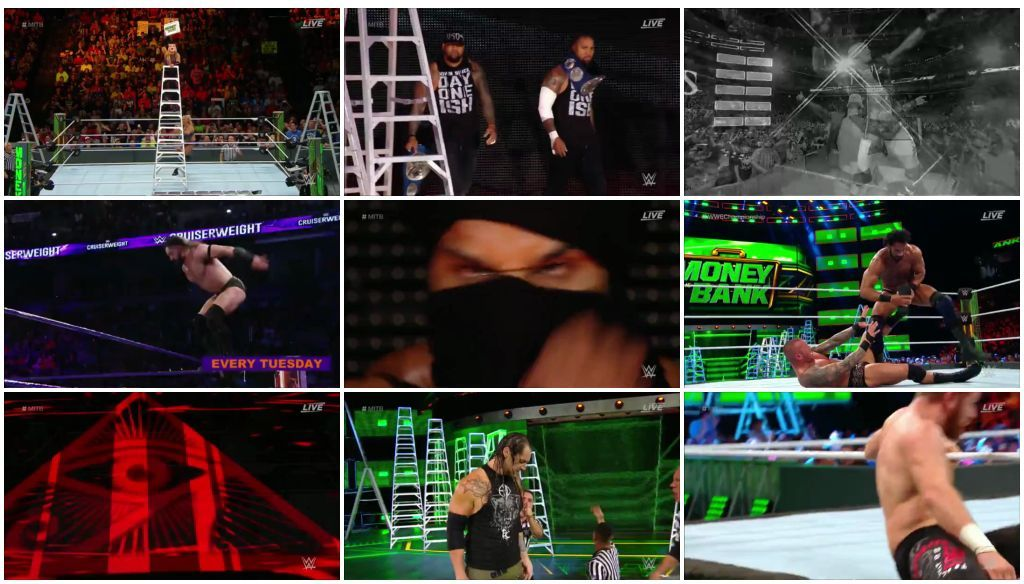 WWE Money In The Bank 2017 Full Show Download 480p