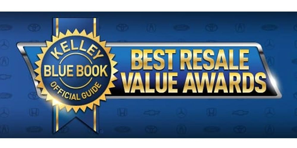 Kelley Blue Book Best Resale Value Awards