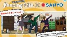 Peeping Life x Sanyo's Cover Image