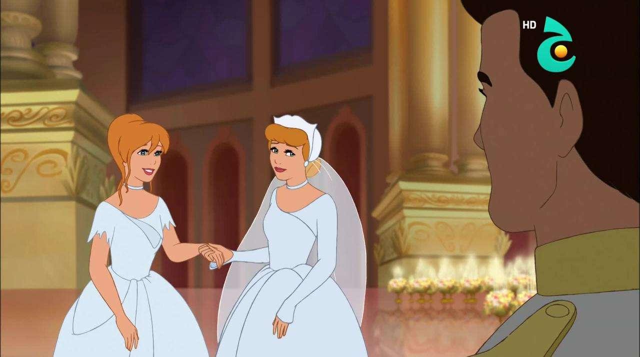سندريلا الجزء الثالث عودة الزمن Cinderella III A Twist in Time (2007) HDTV 1080p تحميل تورنت 14 arabp2p.com