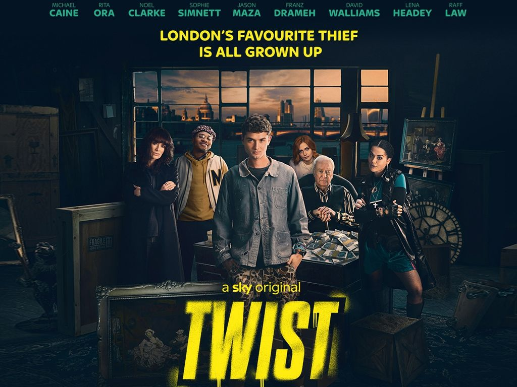 Ο διάσημος κλέφτης (Twist) Quad Poster