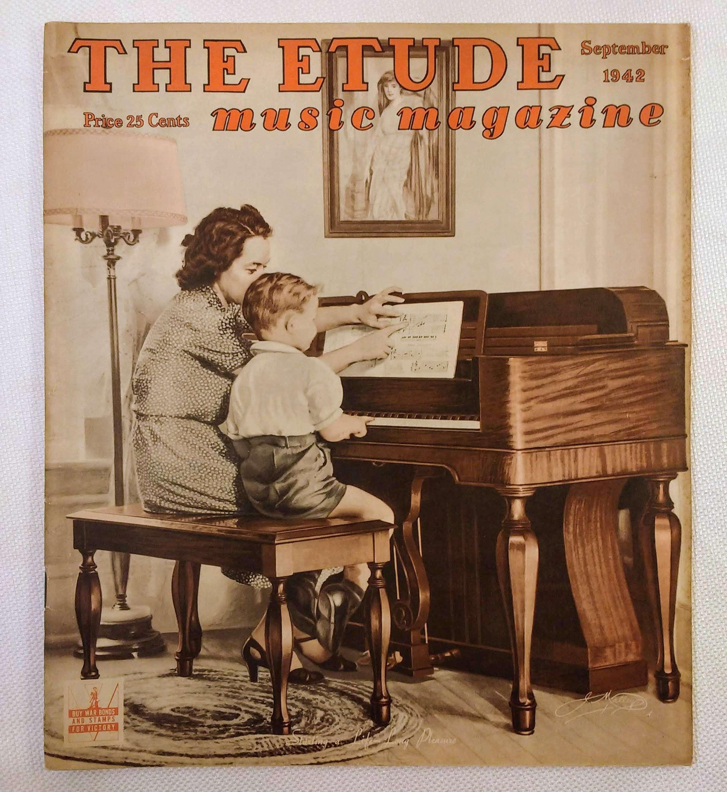 Image for The Etude Music Magazine: Volume LX, No. 9; September, 1942