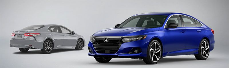 Honda Accord vs Toyota Camry