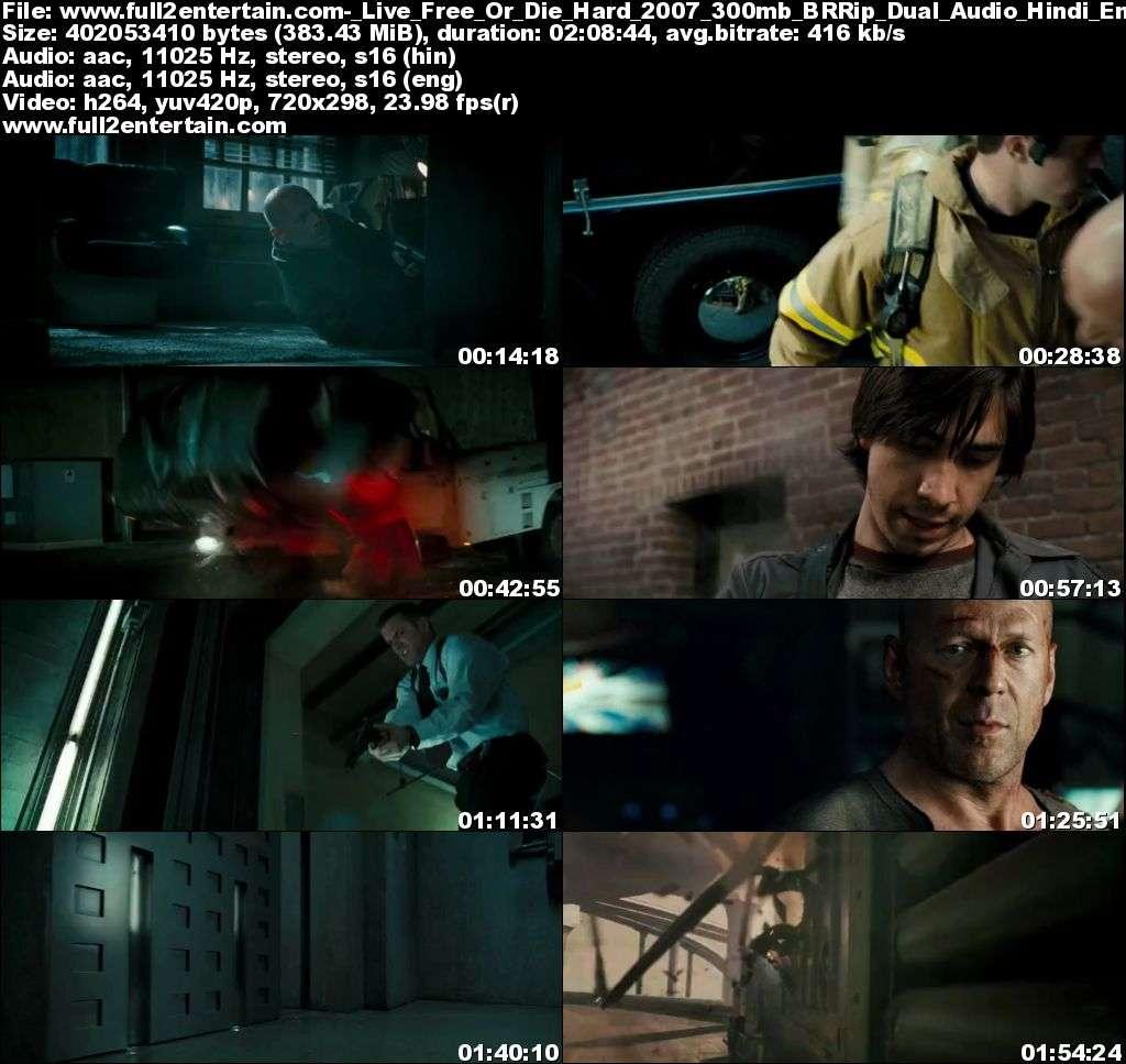 Live Free or Die Hard 2007 Full Movie Free Download HD 300mb