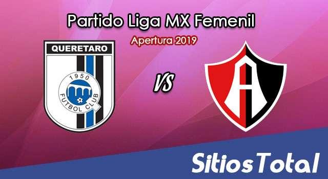 Ver Querétaro vs Atlas en Vivo – Liga MX Femenil – Apertura 2019 – Viernes 11 de Octubre del 2019