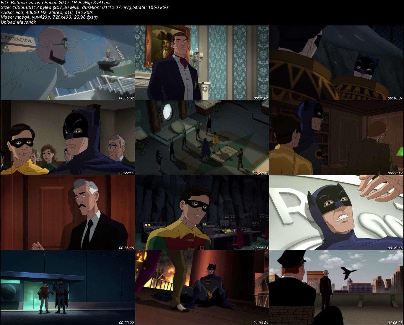 Batman İki Yüz'e Karşı - 2017 Türkçe Dublaj BDRip XviD indir