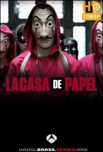 La Casa de Papel 1ª Temporada WEB-DL 1080p Multi Áudio