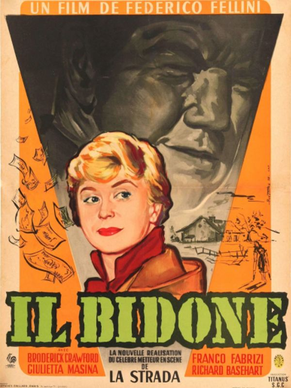 Il bidone ΣΚΙΕΣ ΤΟΥ ΥΠΟΚΟΣΜΟΥ Poster