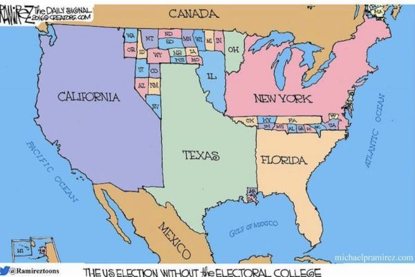 Pinecamcom View Topic 521 Sign Petition Put Nat Popular Vote - Popular-vote-us-map