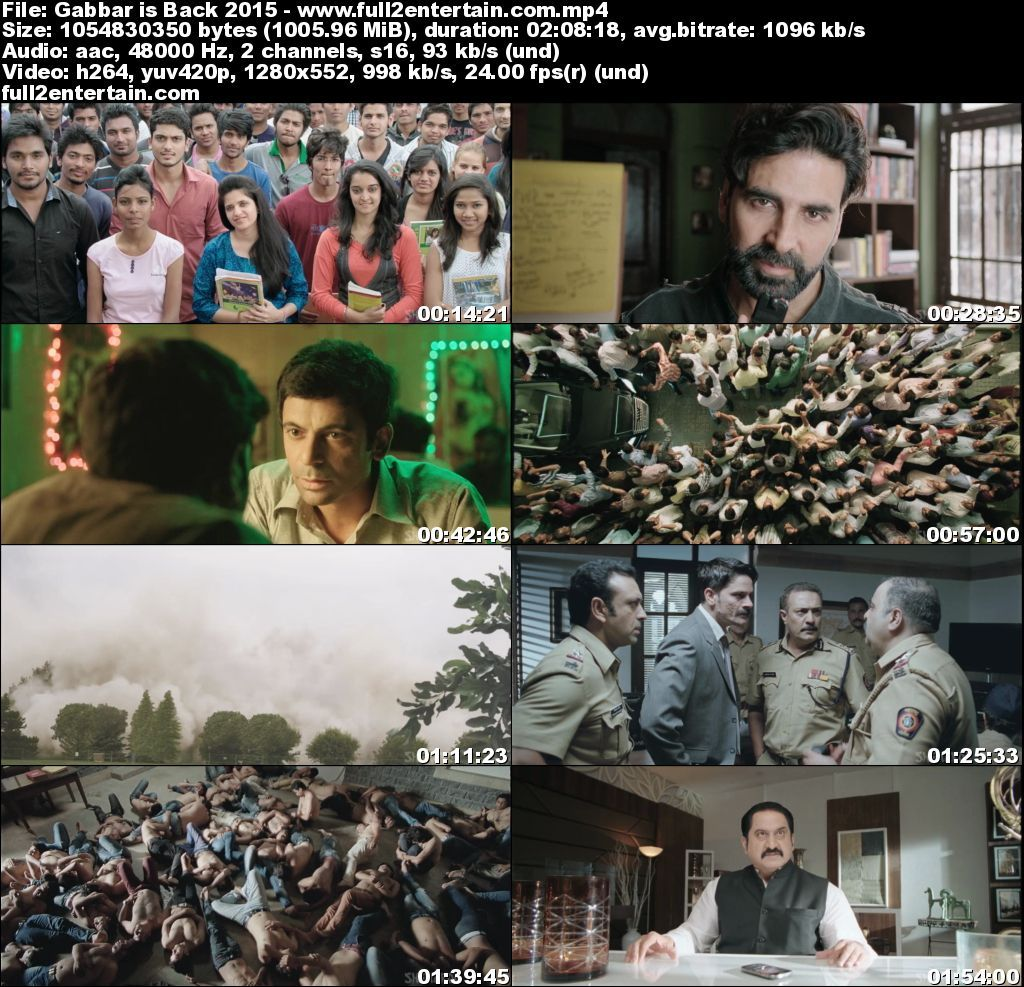 Gabbar is Back (2015) Full Movie Free Download Hd 1Gb
