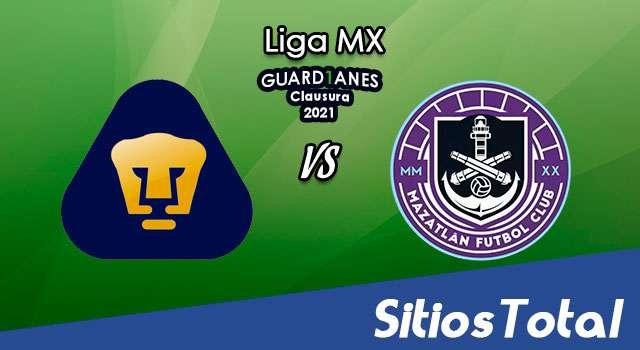 Pumas vs Mazatlán FC en Vivo – Canal de TV, Fecha, Horario, MxM, Resultado – J2 de Guardianes 2021 de la Liga MX