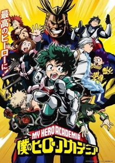 Boku no Hero Academia's Cover Image