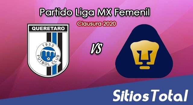 Ver Querétaro vs Pumas en Vivo – Liga MX Femenil – Clausura 2020 – Viernes 28 de Febrero del 2020