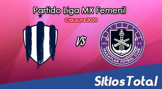 Ver Monterrey vs Mazatlán FC en Vivo – Liga MX Femenil – Guardianes – Lunes 21 de Septiembre del 2020