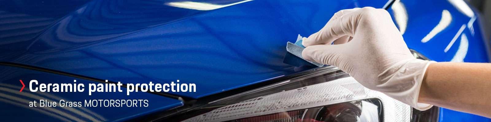 Gliptone GT Quartz Ceramic Coating Paint Protection at Blue Grass MOTORSPORT