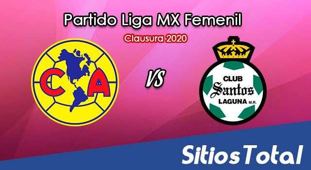 Ver América vs Santos en Vivo – Liga MX Femenil – Guardianes – Viernes 18 de Septiembre del 2020