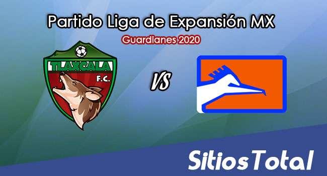Tlaxcala FC vs Correcaminos en Vivo – Liga de Expansión MX – Guardianes 2020 – Domingo 18 de Octubre del 2020