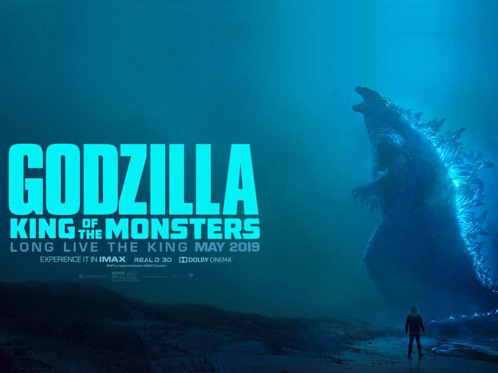 Γκοτζίλα ΙΙ Ο Βασιλιάς Των Τεράτων (Godzilla: King of the Monsters) Quad Poster Πόστερ