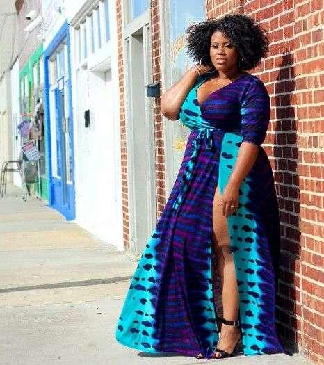 Plus size, Ankara Fashion Dress Designs