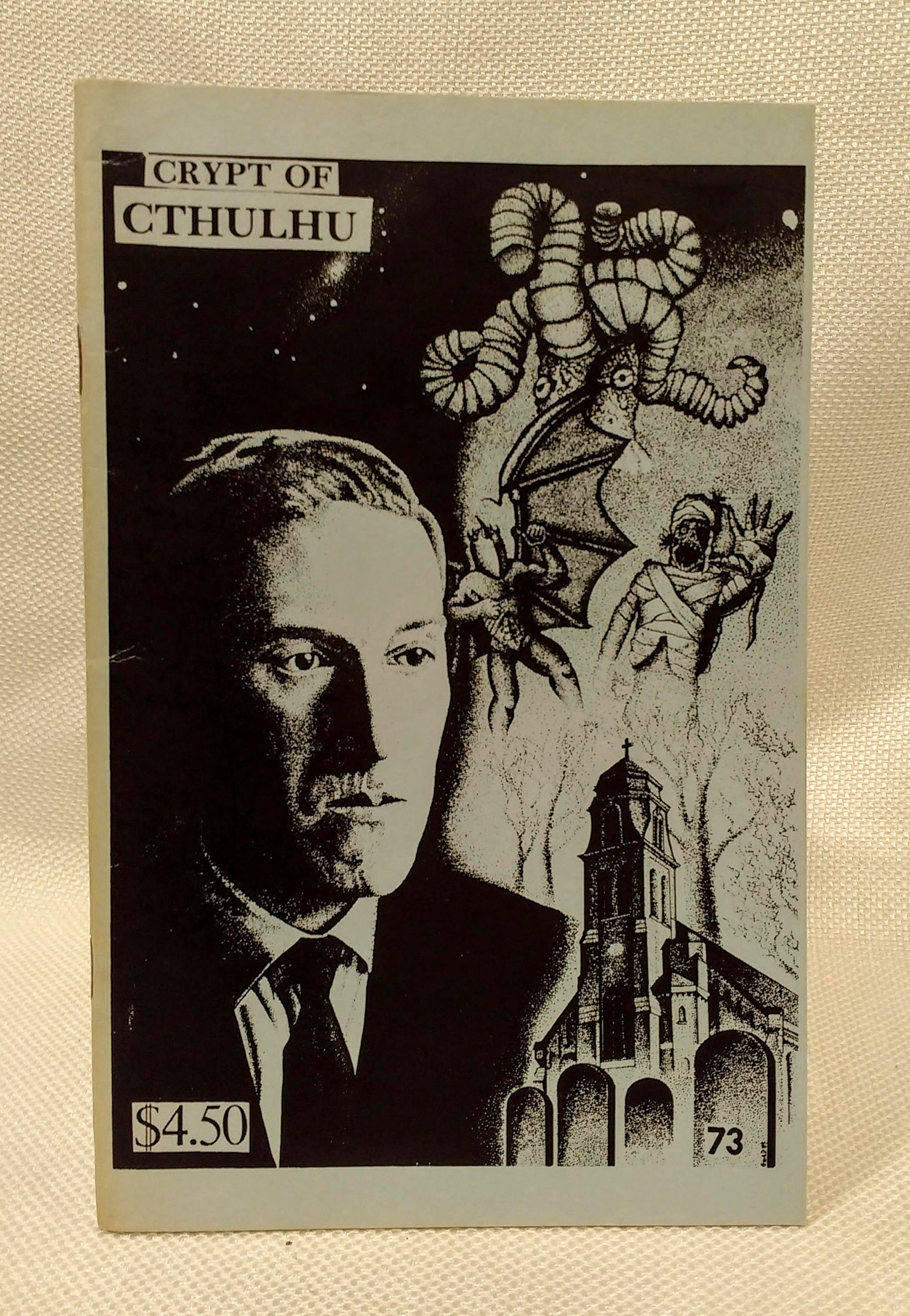 Crypt of Cthulu; A Pulp Thriller and Theological Journal: #73 (St. John's Eve 1990), Price, Robert M. [Editor]