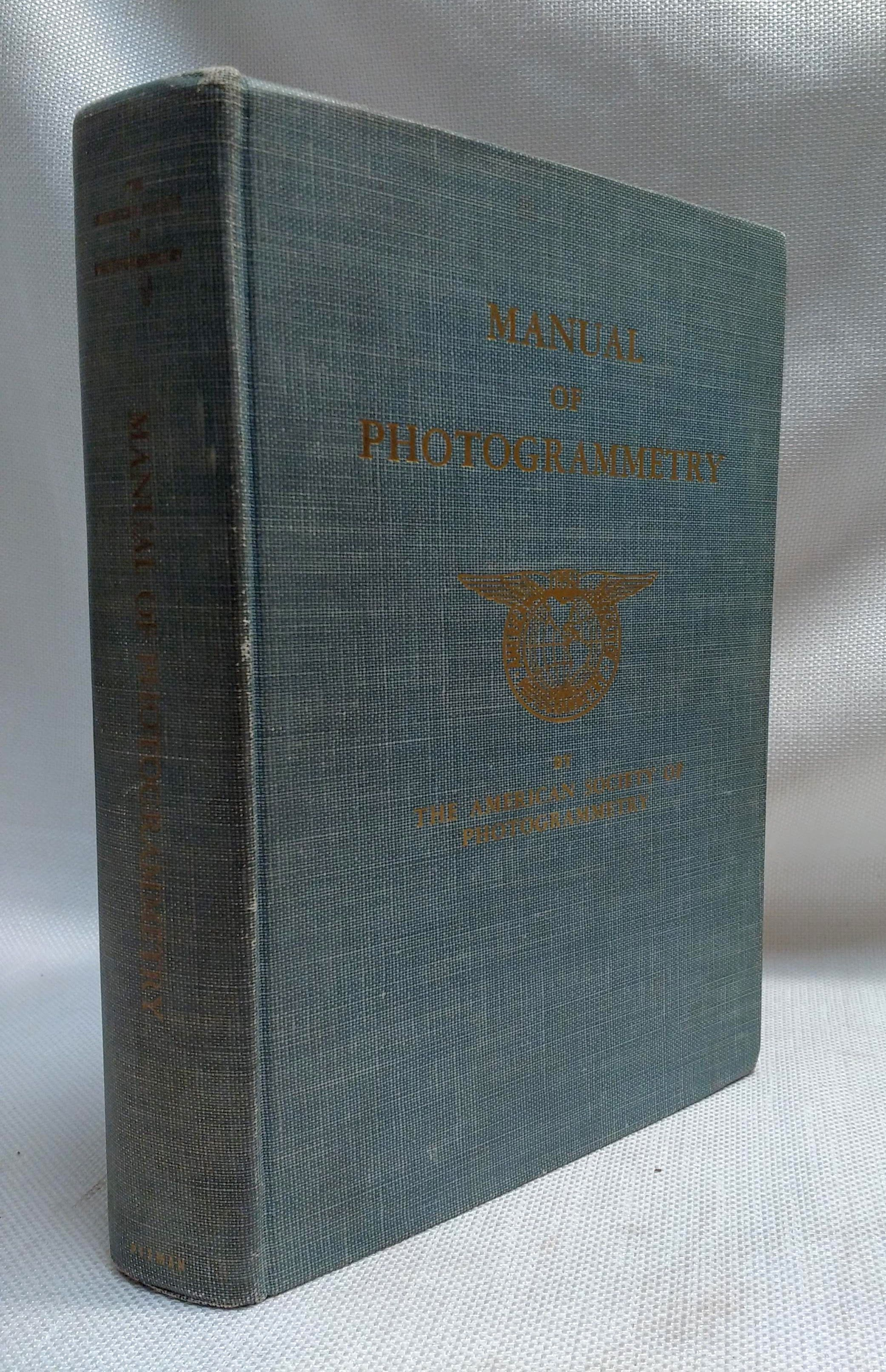 Manual of Photogrammetry (Preliminary Edition), American Society of Photogrammetry; McCurdy, P.G. [editor]; et al