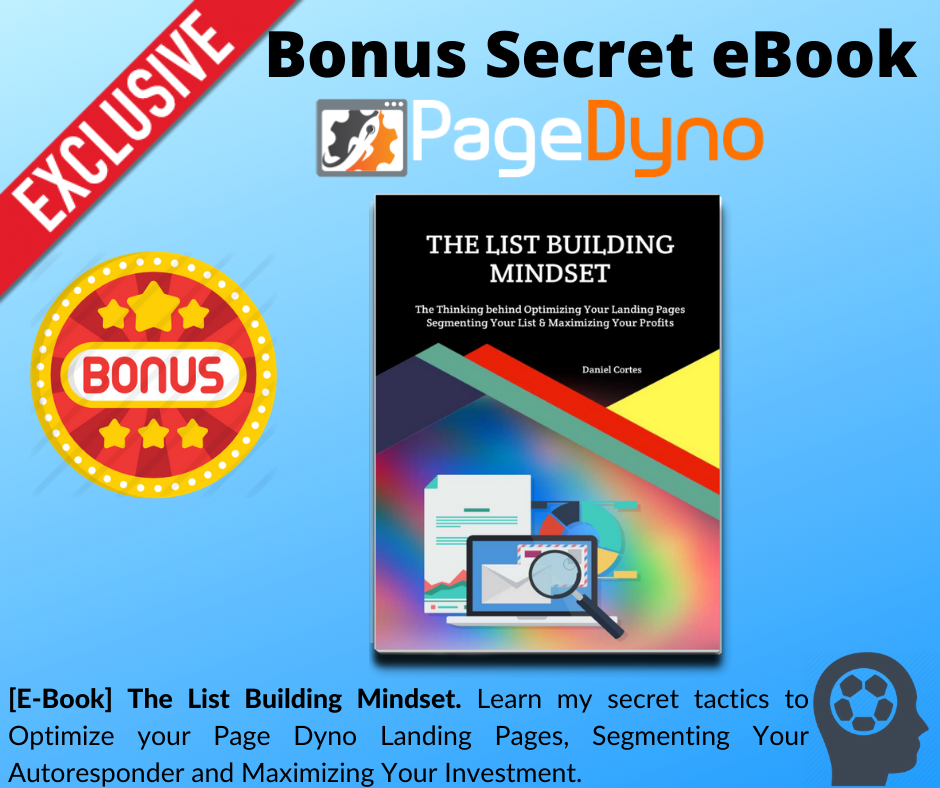 Page Dyno Review - Bonus 1 - The List Building Mindset