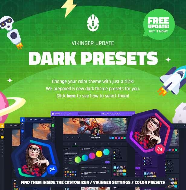 Vikinger - BuddyPress and GamiPress Social Community - 13