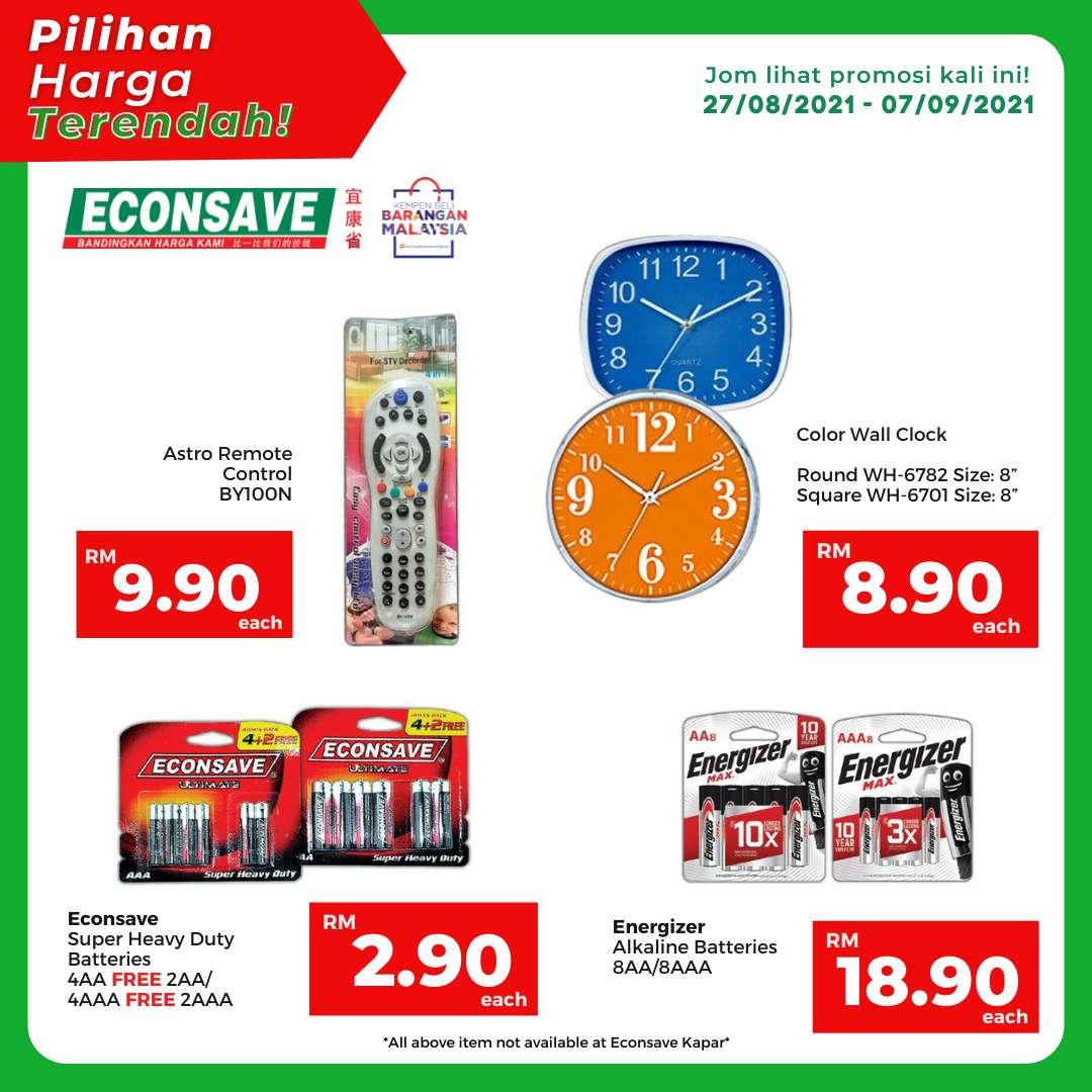 EconSave Catalogue (27 August 2021- 7 September 2021)