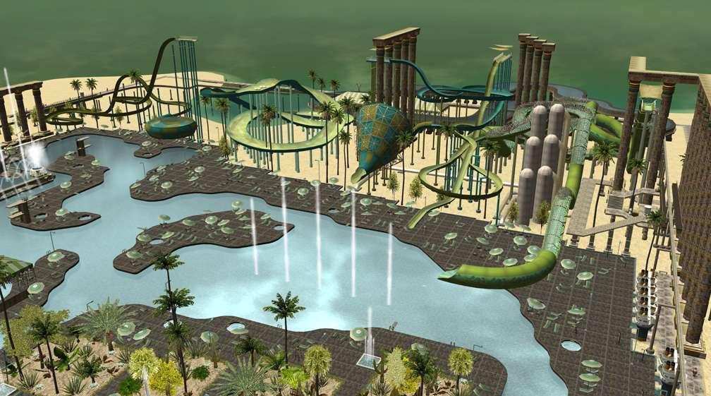 Image 11 - Parks, Scenarios, & Sandboxes - Scenario: Water World Resort