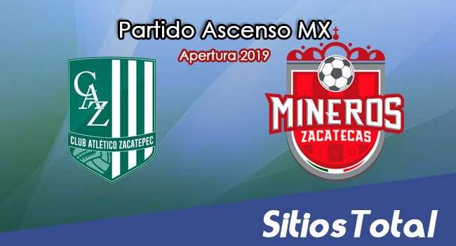Ver Atlético Zacatepec vs Mineros de Zacatecas en Vivo – Ascenso MX en su Torneo de Apertura 2019