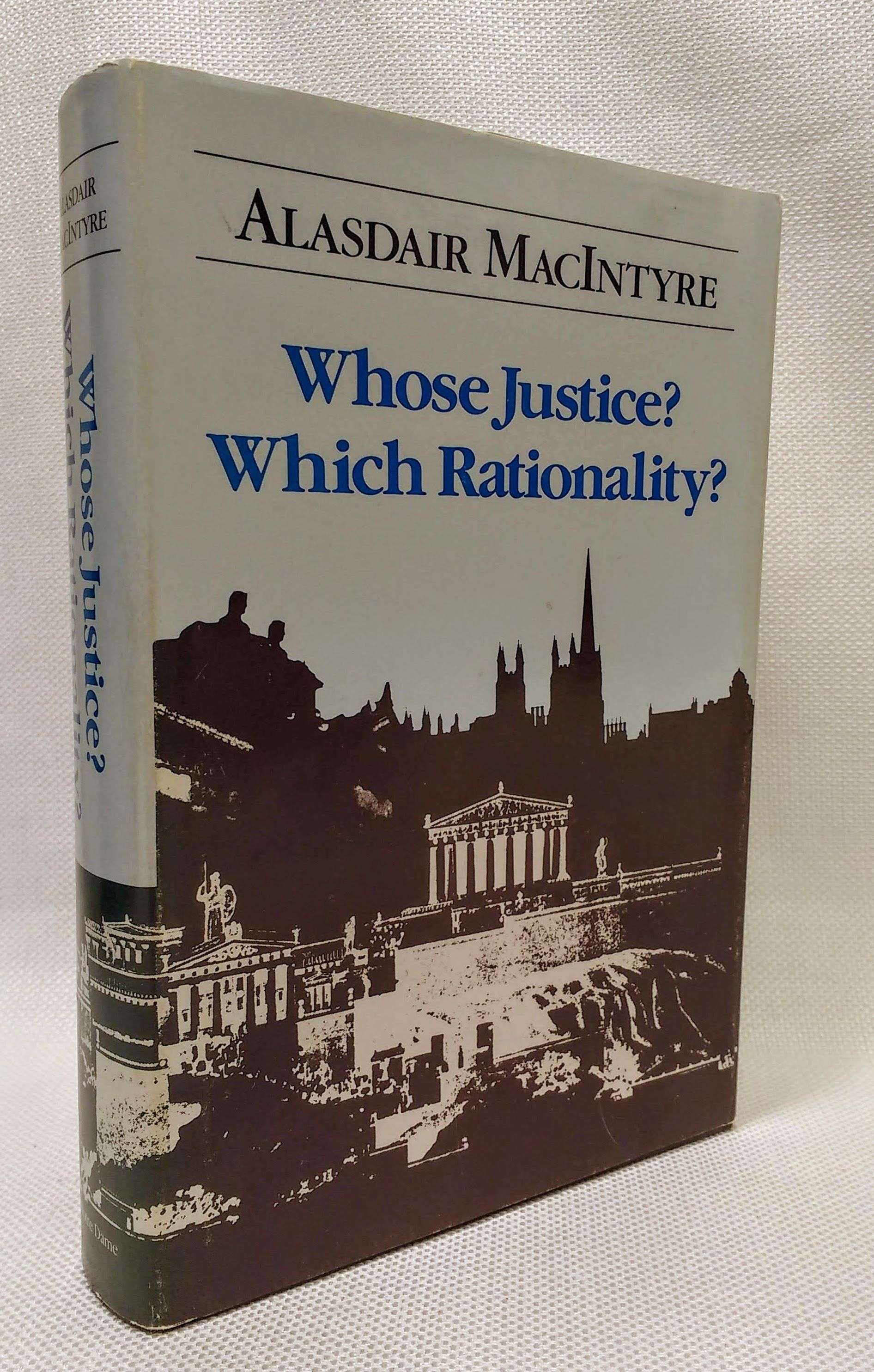Whose Justice? Which Rationality?, MacIntyre, Alasdair