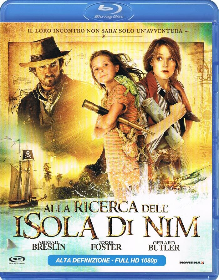 Alla ricerca dell'isola di Nim (2008) HD BDRip 720p DTS Ac3 ITA ENG Sub ITA x264