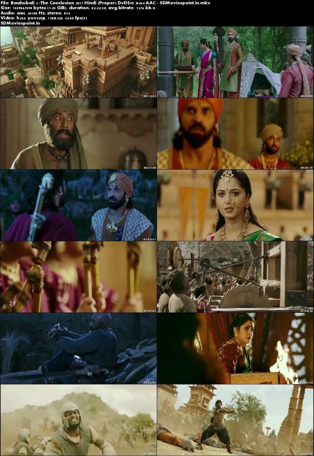 Screen Shot Baahubali 2 (2017) Full HD Movie Download Hindi Dubbed