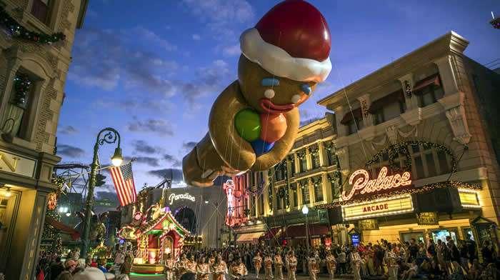 Universal Orlando Resort celebra la temporada navideña