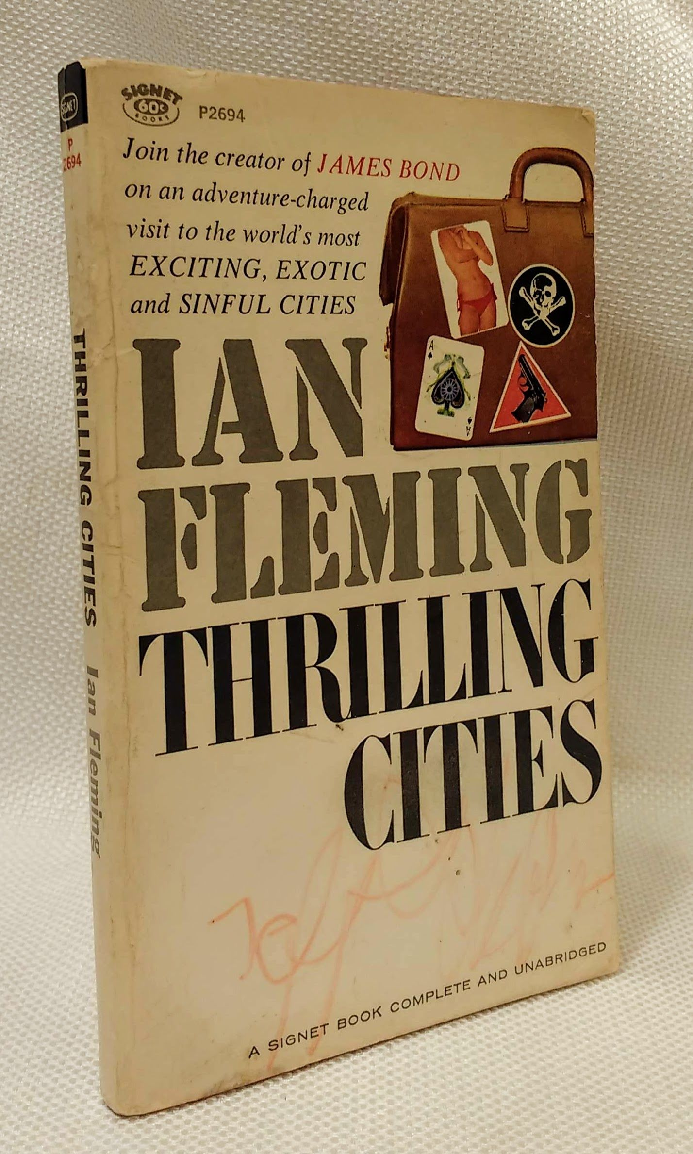 Thrilling Cities, Fleming, Ian