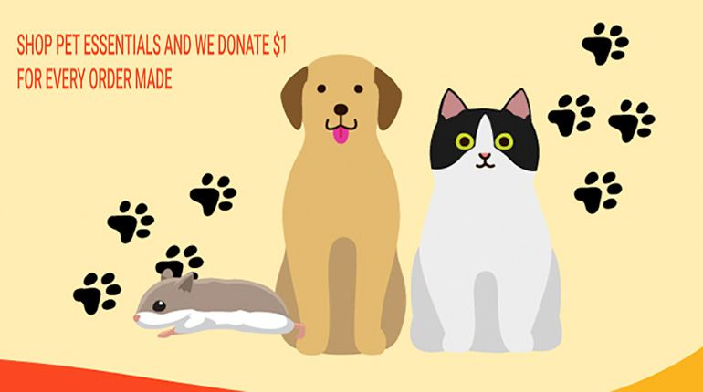 Shopee Singapore Partners SPCA to Lend a Hand to a Paw in Need