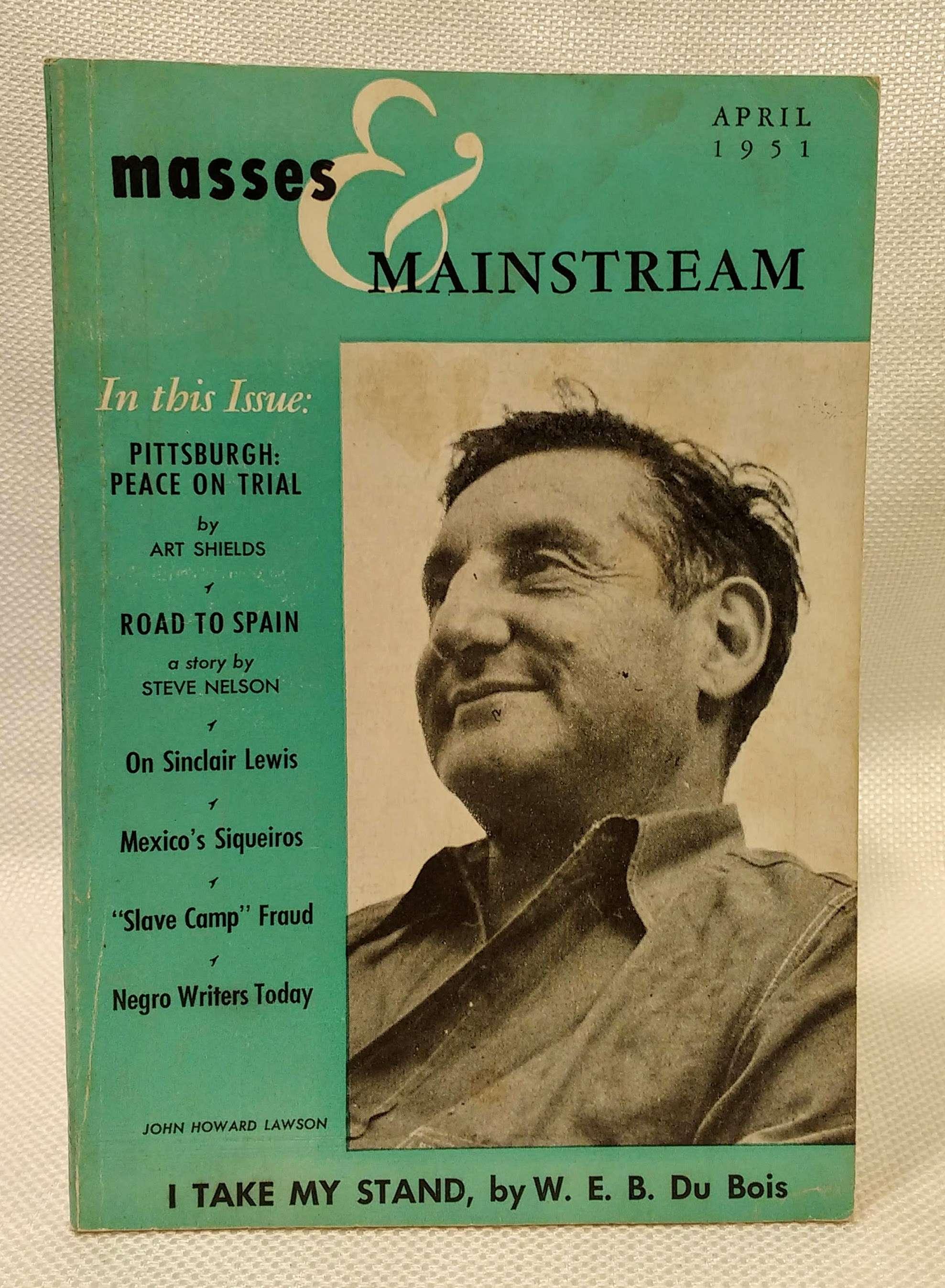 Masses & Mainstream; Vol. 4, No. 4 (January 1950), Sillen, Samuel [ed.]; Aptheker, Herbert [Assoc. Editor]; Brown, Lloyd [Assoc. Editor]