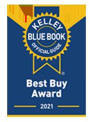 2021 Kelley Blue Book Best Buy Award