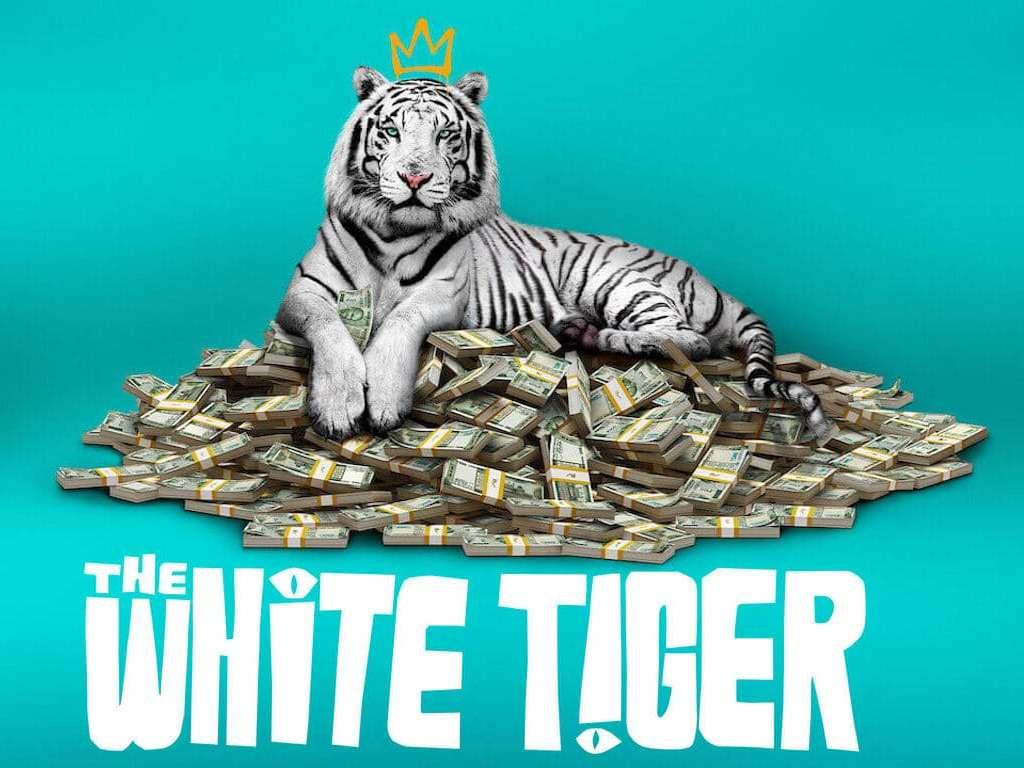 The White Tiger Poster Πόστερ Wallpaper