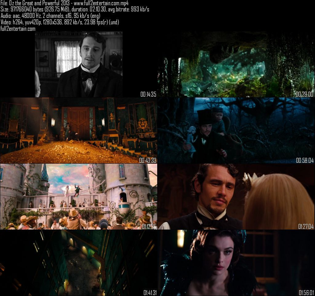 Oz the Great and Powerful 2013 Full Movie Free Download HD