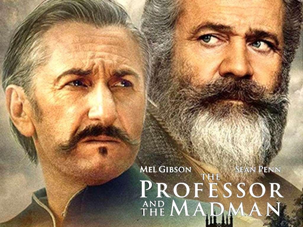 Ο Καθηγητής και ο Τρελός (The Professor and The Madman) Quad Poster Πόστερ